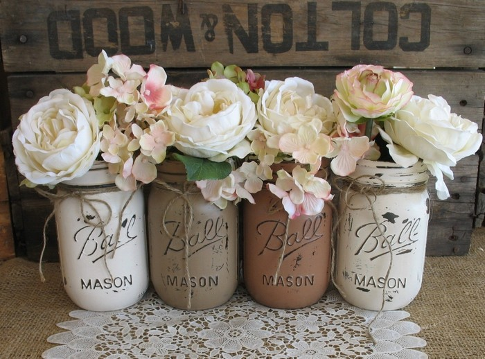 Mason Jars Decor Craft