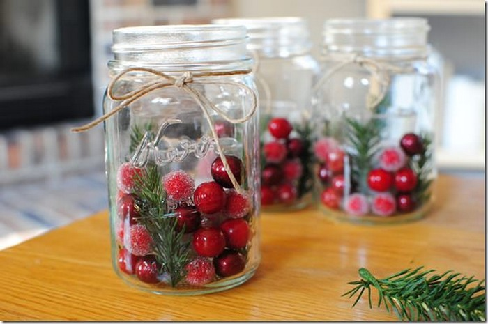 Mason Jars Decorating Idea