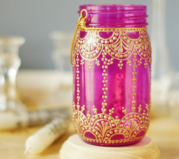Mason Jars Decorating