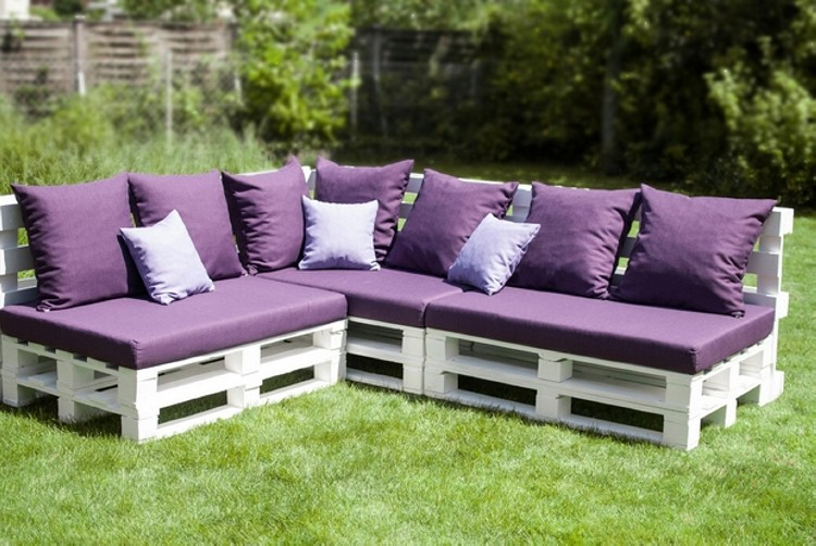 Garden Furniture Using Pallets pallet outdoor furniture plans | recycled things