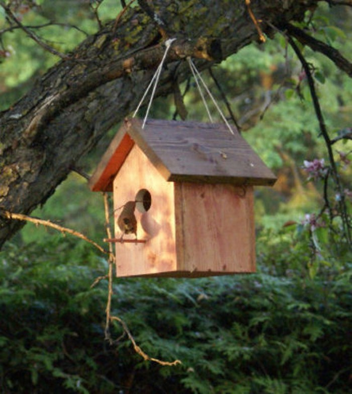 Diy wooden pallet birdhouse projects recycled things for Birdhouse project