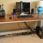 DIY Pallet Computer Desks