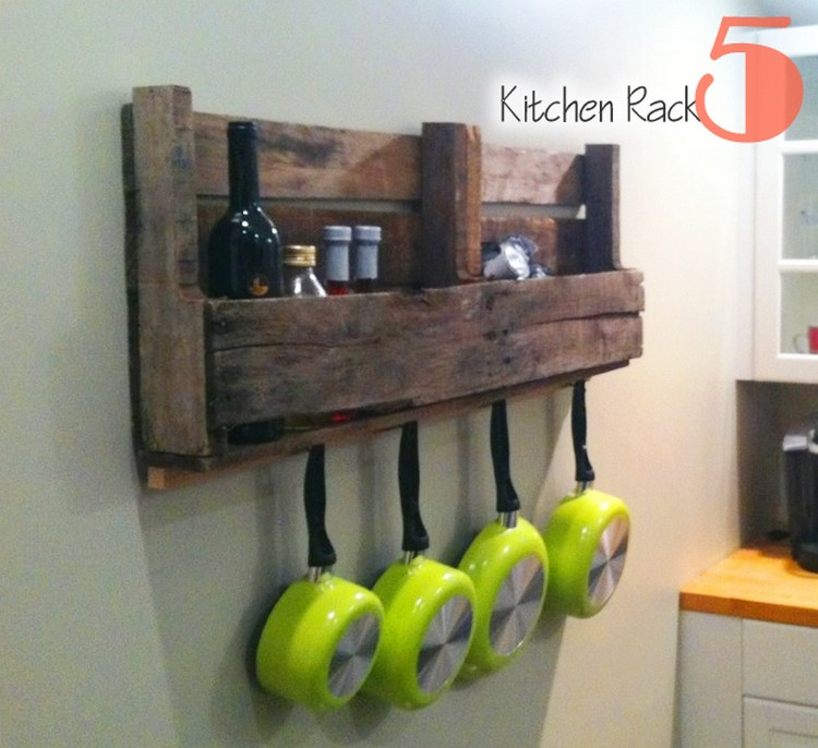 Pallet Projects for Kitchen | Recycled Things