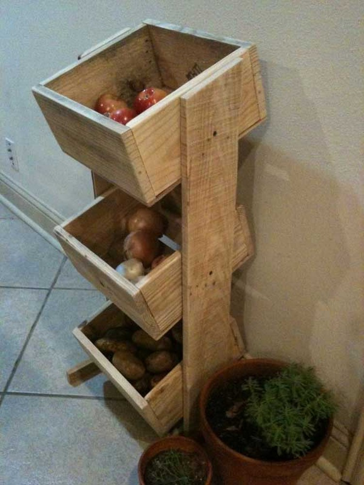 Pallet projects for kitchen recycled things for Diy recycled projects