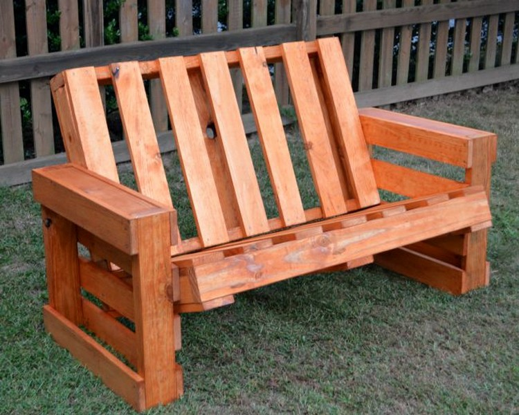 Wooden Pallet Bench Plans | Recycled Things
