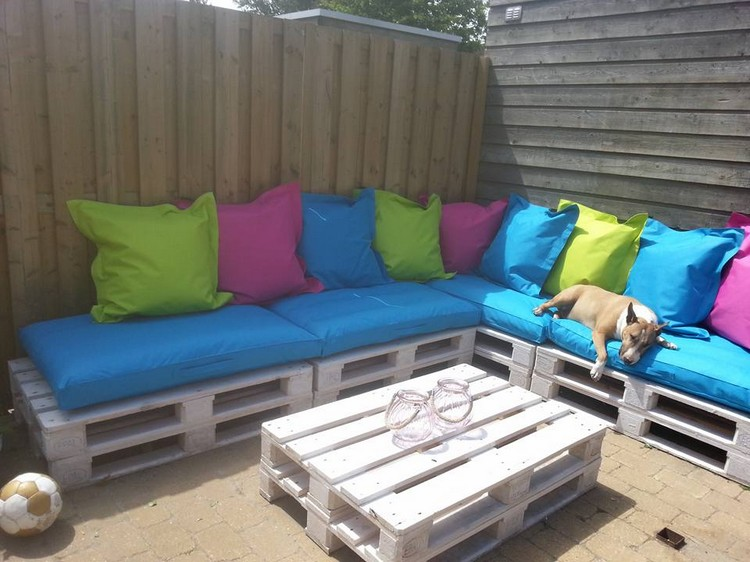 DIY Pallet Wood Couch Plans Recycled Things