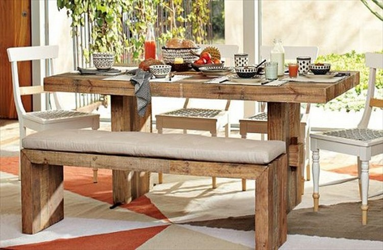 Pallet Outdoor Dinning Table