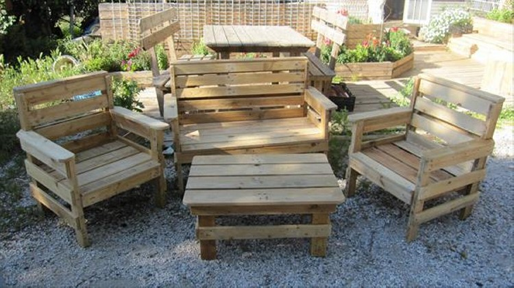 design pallet outdoor furniture - Garden Furniture Wooden Pallets
