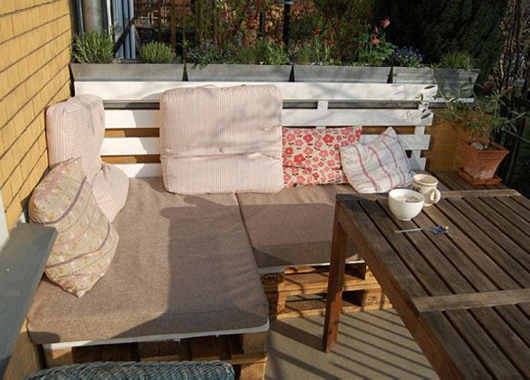 ... Pallet Patio Furniture Plans ...