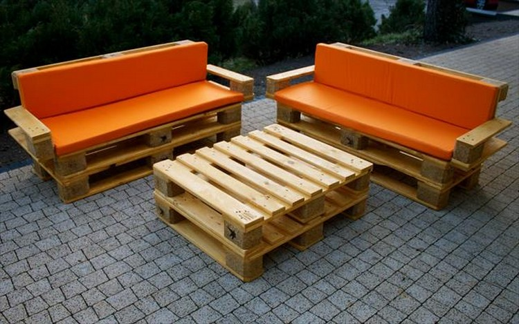 Elegant ... Pallet Patio Furniture ...