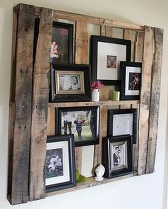 ... Pallet Wall Decorating ...