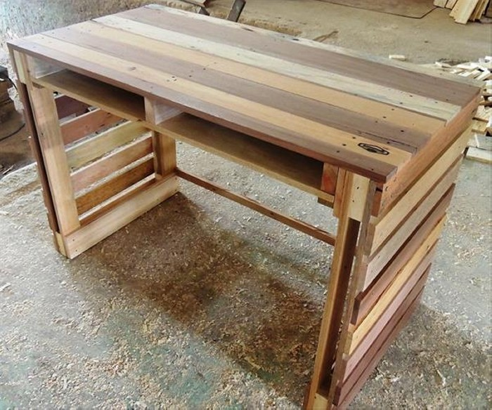 Making a Wooden Garden Table