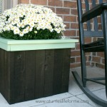 Pallets Flower Planter Box