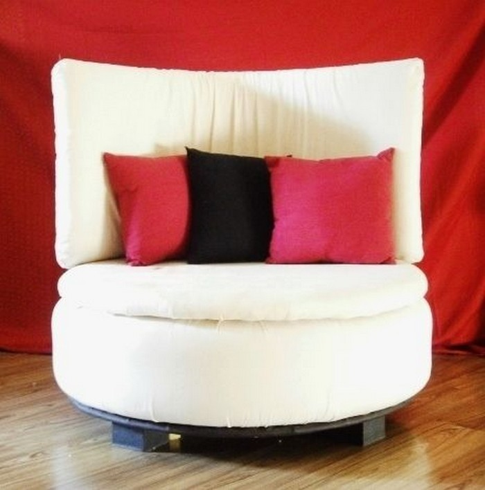 diy furniture from recycled automotive tires recycled things