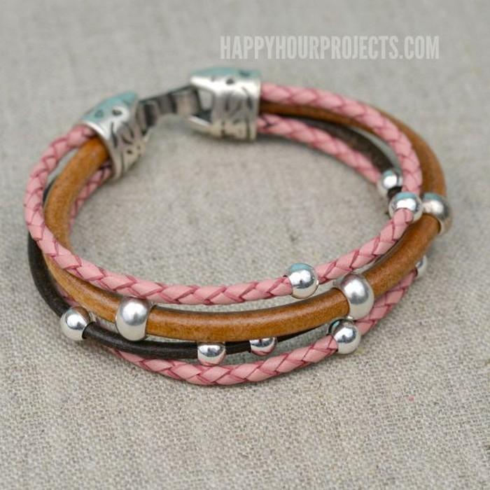 Recycled Beaded Bracelet