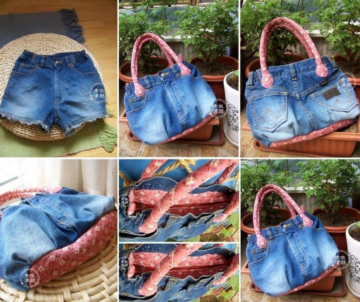 Creative things to do with old jeans recycled things for Creative things to do at home out of waste