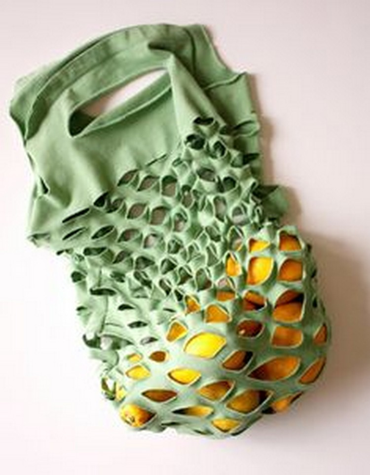 Recycled Fabrics Bag