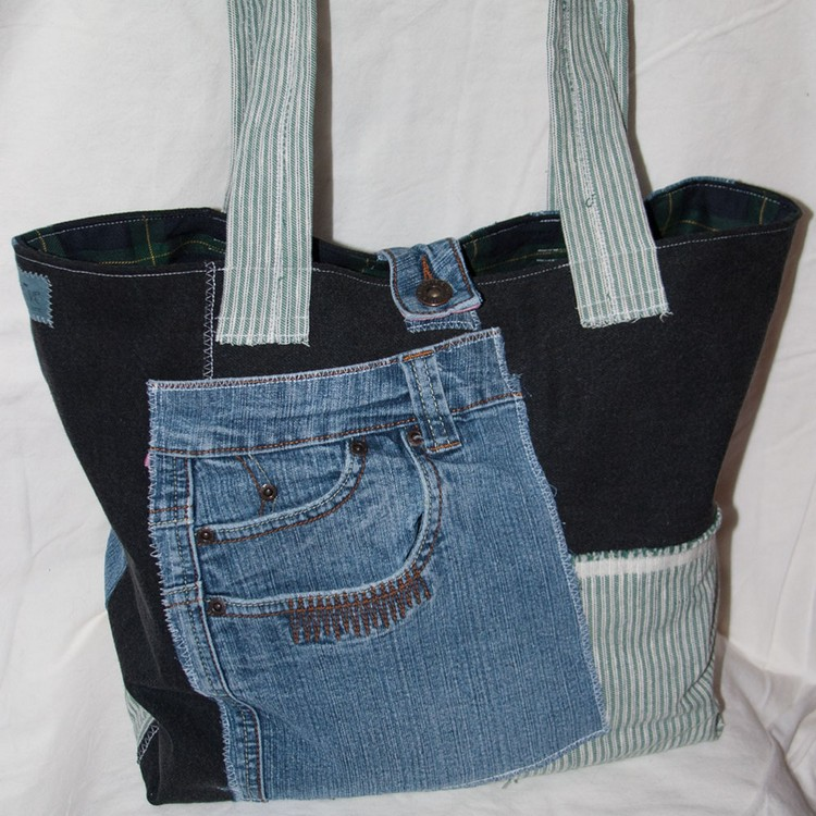 Recycled Fabrics Handbag