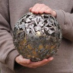 Recycled Keys Ball
