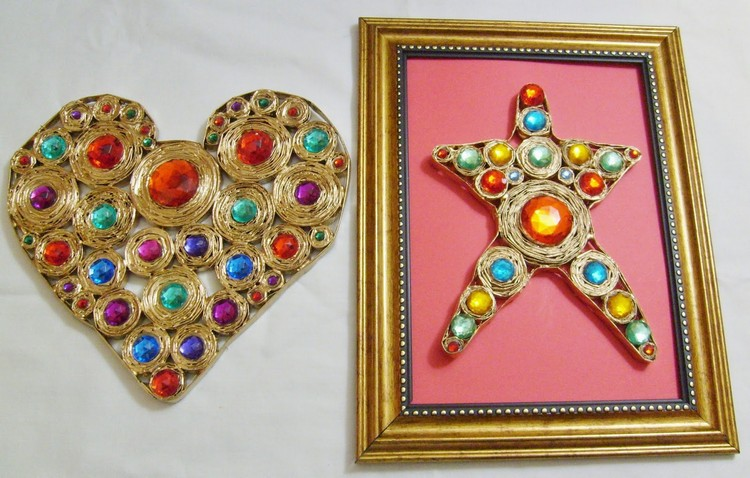 Recycled Materials Home Decor