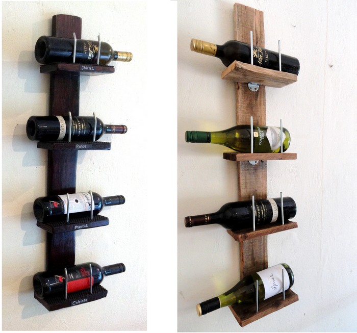 pallet wine rack. Recycled Pallet Wine Rack