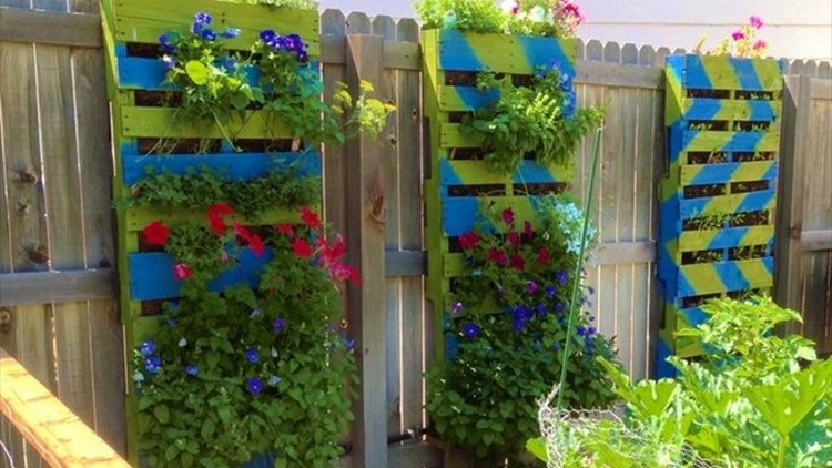 Recycled Pallets Gardening