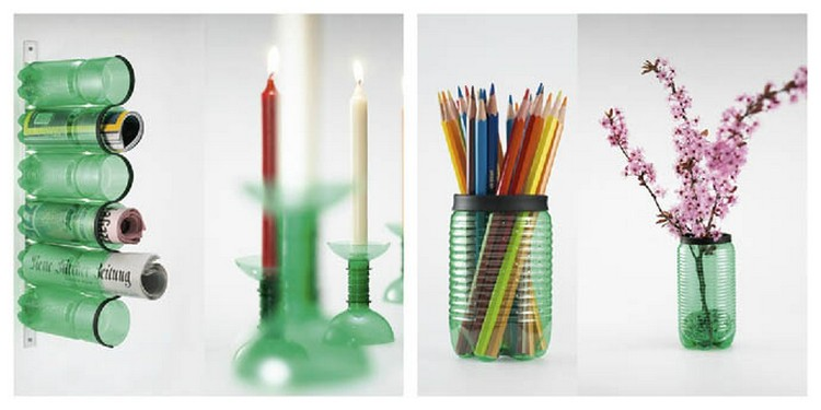 Recycled Plastic Bottle Crafts