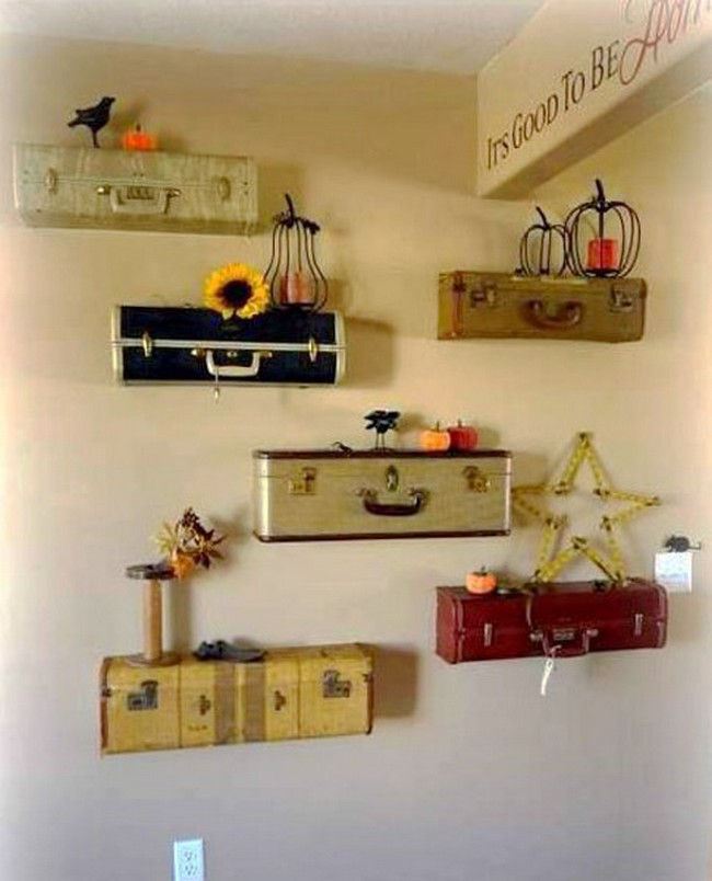Creative recycling ideas for home decor recycled things for Recycled decoration