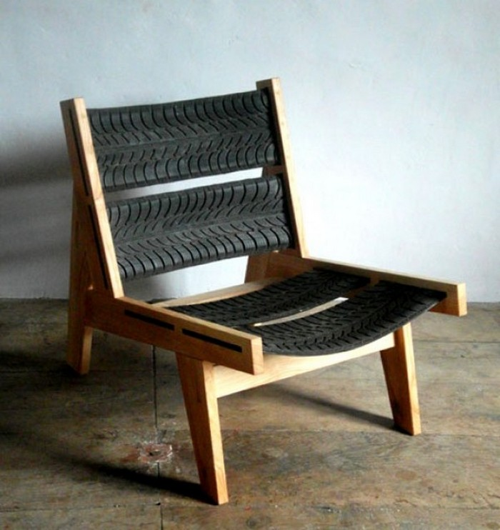 Recycled Tires Chair