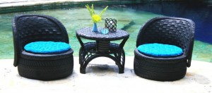 DIY Furniture From Recycled Automotive Tires