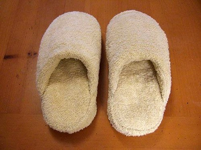 Recycled Towel Slippers