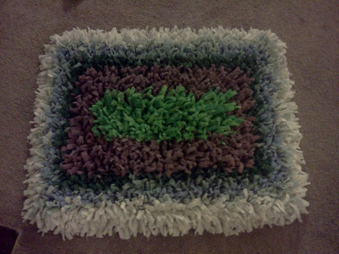 Recycled Towels Bath Rug
