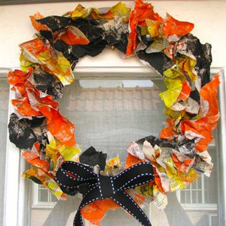 Recycled Wall Wreath