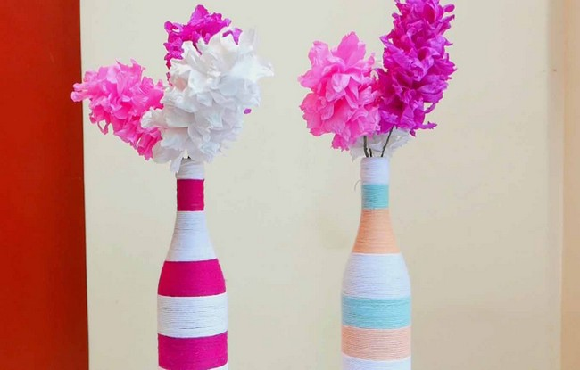Creative recycling ideas for home decor recycled things for Handmade things for decoration