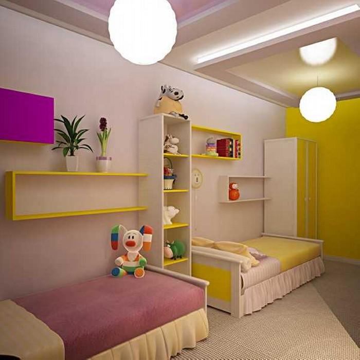 Two Kids Room Decor