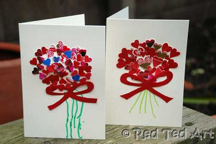 Valentines Day Cards  Recycled Things