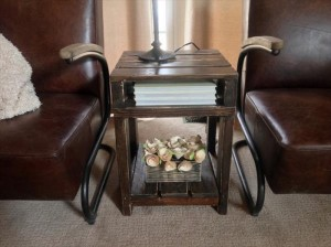Recycled Wooden Pallet End Tables