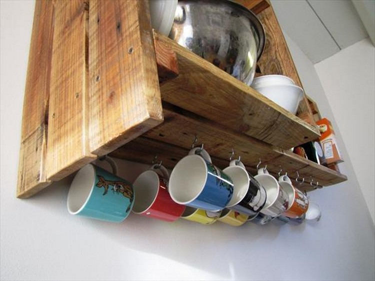 Kitchen Cabinets From Pallets pallet projects for kitchen | recycled things