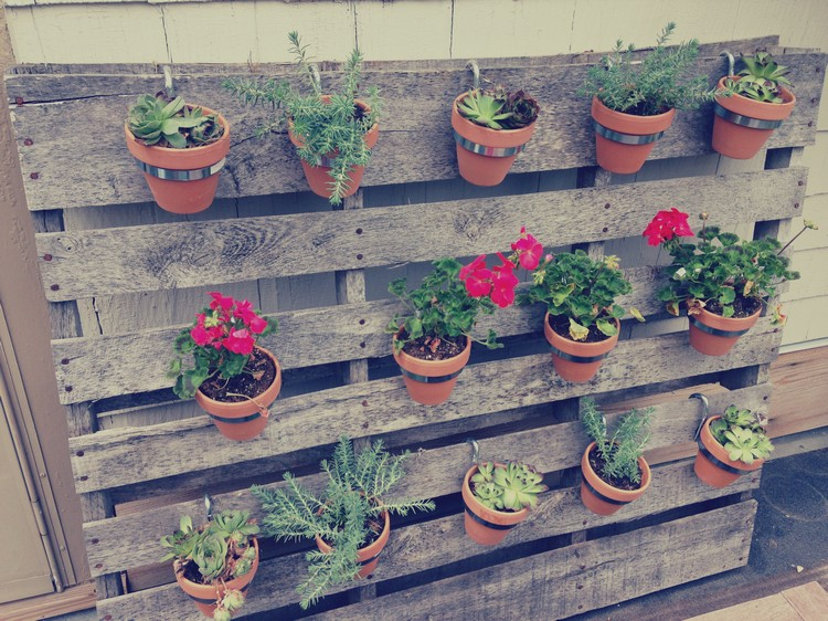 diy pallet vertical garden - Garden Ideas With Pallets