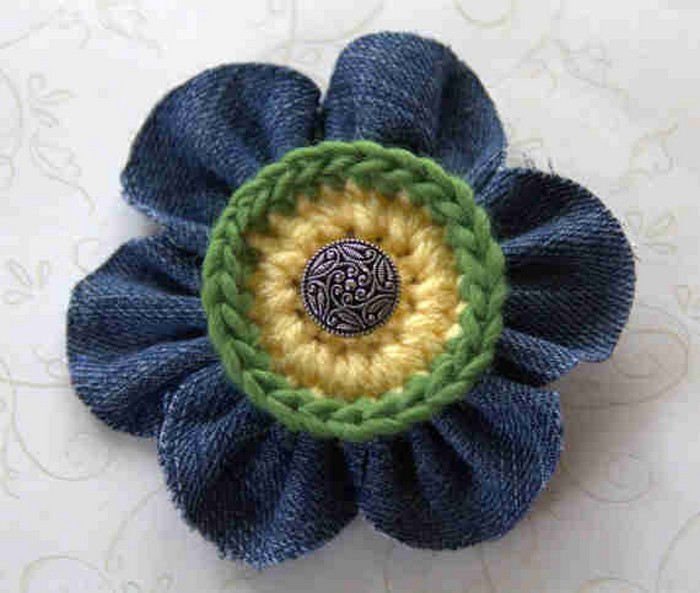 Jeans Flower
