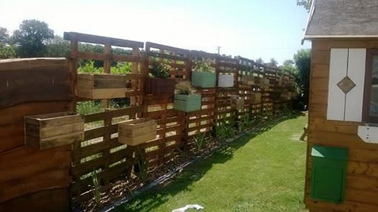 Recycled Pallet Fence Plans Recycled Things