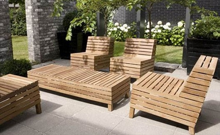30 Inspirational Recycled Patio Furniture