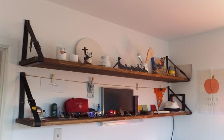 Recycled Belt Shelf