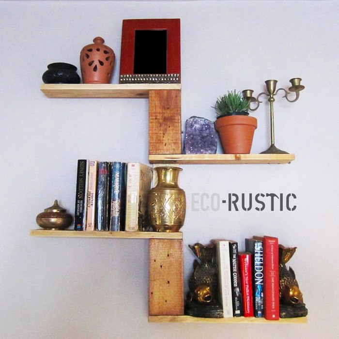 Rustic Pallet Wall Decor