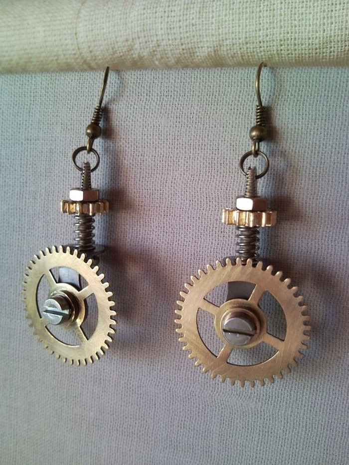 Upcycled Earrings Craft
