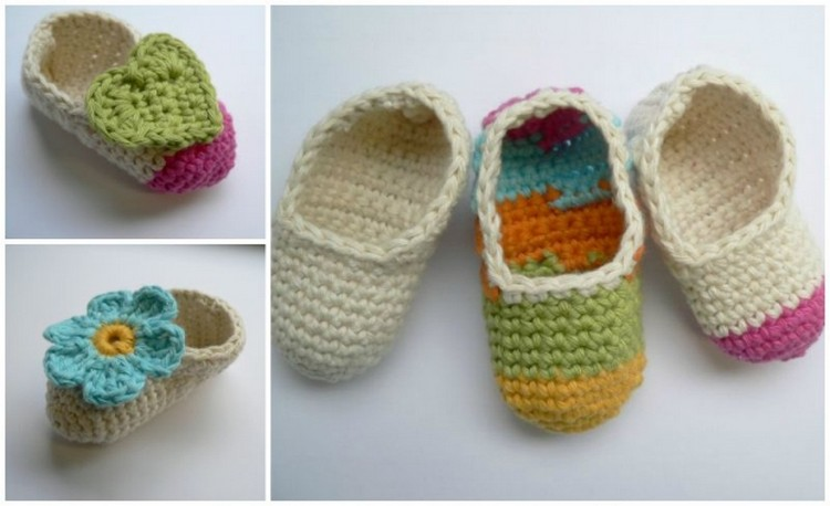 Awesome Crochet Baby Shoes