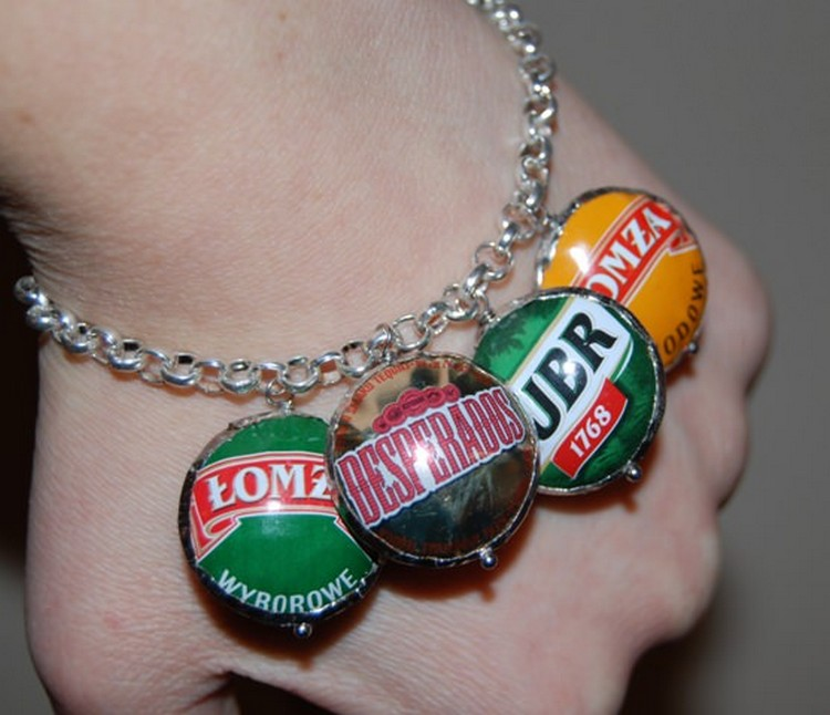 Bottle Caps Bracelet