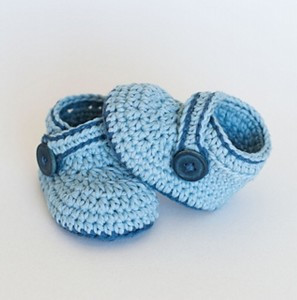 Patterns for Crochet Baby Booties