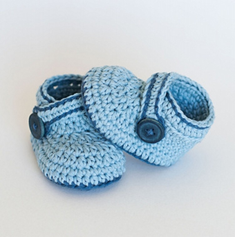 Crochet Baby Shoes Plans