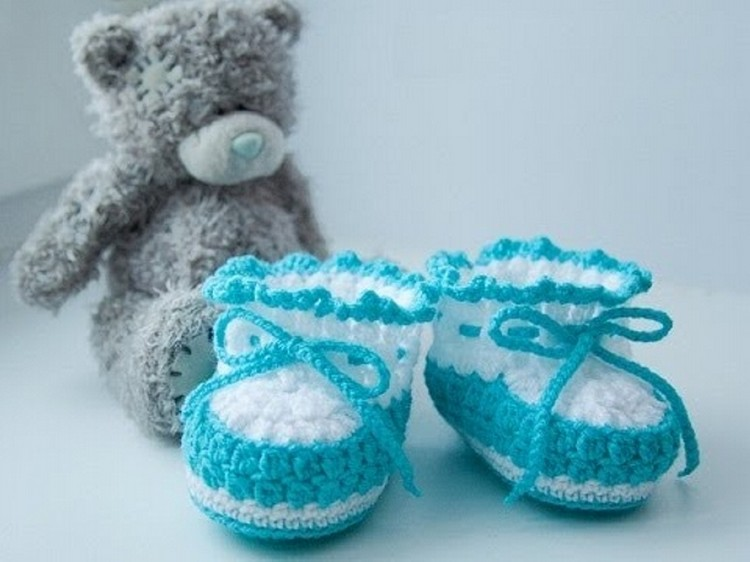 Cute Crochet Baby Boots